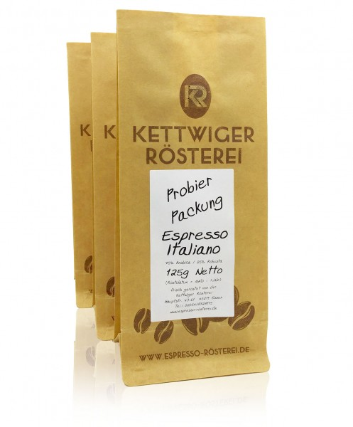 Espresso Probierpaket 3 x mild