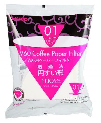 Papierfilter für Hario Coffee Dripper